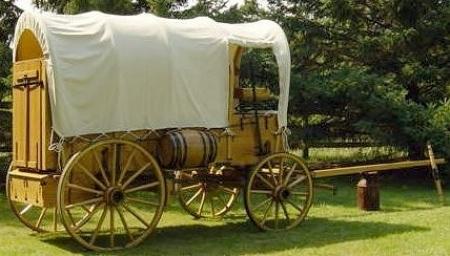 I carri nel vecchio west: prairie schooner, conestoga, chuck wagon ...